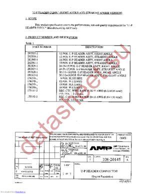 282360-1 datasheet скачать даташит