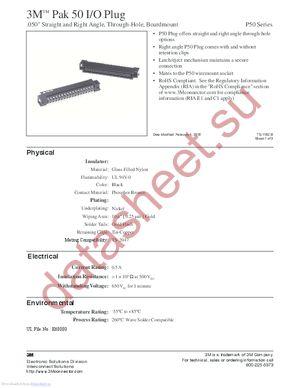 P50-050P1-S1-EA datasheet скачать даташит