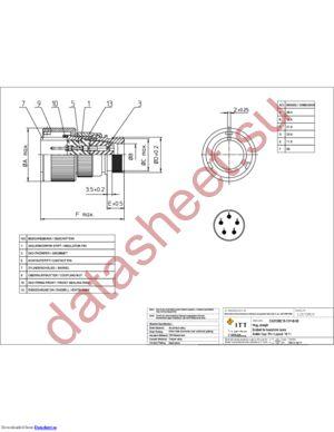 CA3106E18-11PB06 datasheet скачать даташит