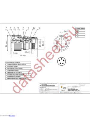 CA3106E18-11SB13 datasheet скачать даташит