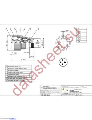 CA3106E18-13SB03 datasheet скачать даташит