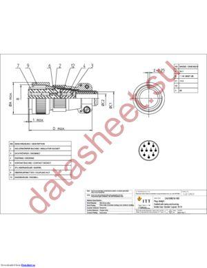 CA3106E18-19S datasheet скачать даташит