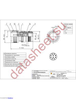 CA3106E18-1P15 datasheet скачать даташит