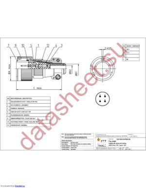 CA3106E18-4PXBF80 datasheet скачать даташит