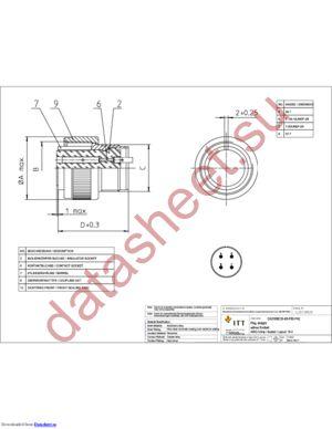 CA3106E18-4SF80F42 datasheet скачать даташит