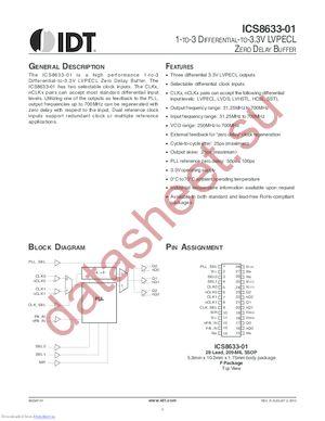 8633AF-01 datasheet скачать даташит