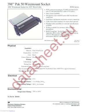 P25E-034-S-TG datasheet скачать даташит