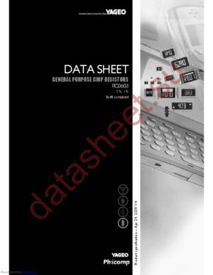 RC0603FR-074K64L datasheet скачать даташит