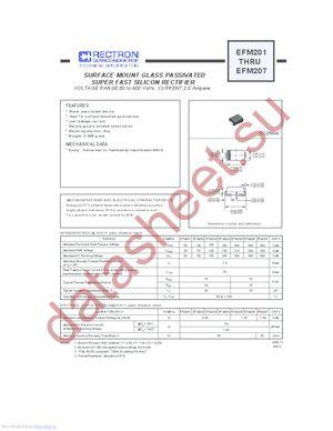 EFM207 datasheet скачать даташит