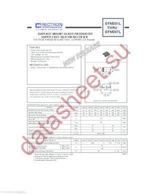 EFM301L datasheet скачать даташит