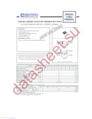 FM2100L datasheet скачать даташит
