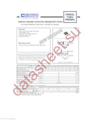 FM320L datasheet скачать даташит