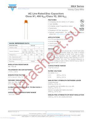 30LVS15JB-R datasheet скачать даташит