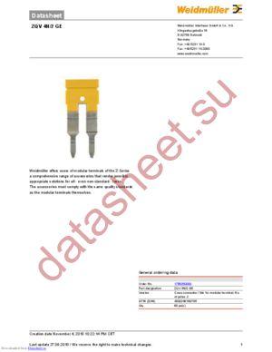 1101621001 datasheet скачать даташит