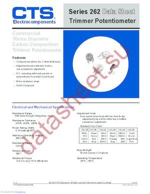 U262R253B datasheet скачать даташит