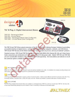 TNP125 datasheet скачать даташит