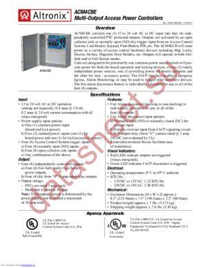 ACM4CBE datasheet скачать даташит