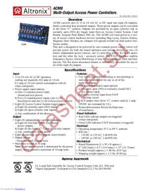 ACM8 datasheet скачать даташит