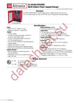 AL1024ULXPD4CBR datasheet скачать даташит