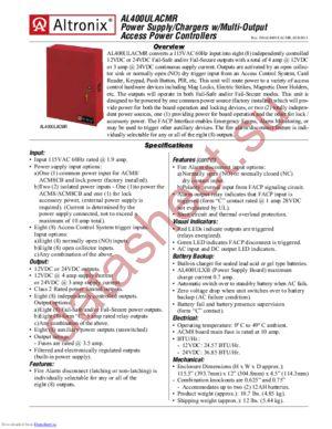 AL400ULACMR datasheet скачать даташит