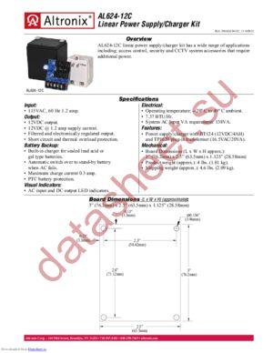 AL62412C datasheet скачать даташит