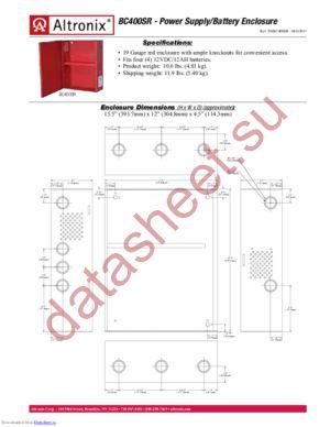 BC400SR datasheet скачать даташит