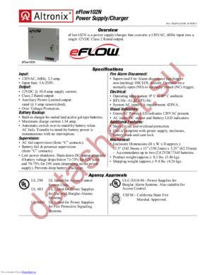 eFlow102N datasheet скачать даташит