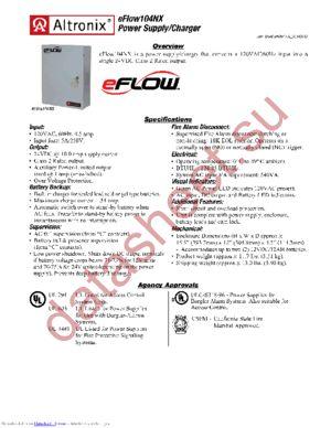 eFlow104NX datasheet скачать даташит