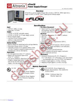 eFlow3N datasheet скачать даташит