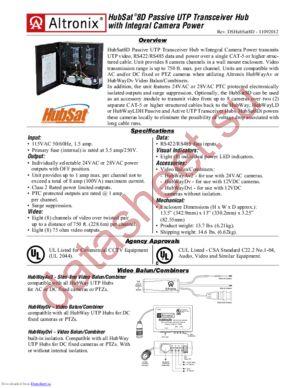 HubSat8D datasheet скачать даташит