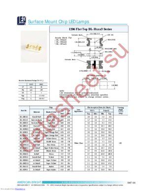 BL-HG633 datasheet скачать даташит