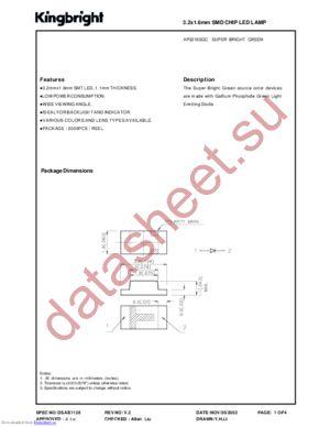 AP3216SGC datasheet скачать даташит