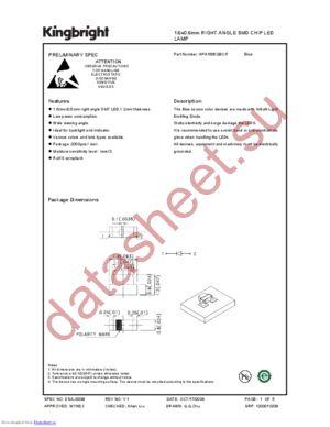 APA1606QBC-F datasheet скачать даташит