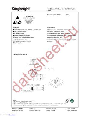 APA1606ZGC datasheet скачать даташит