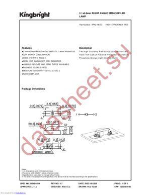 APA2106EC datasheet скачать даташит
