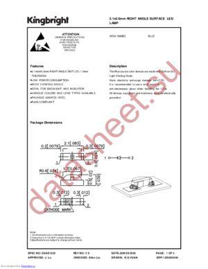 APA2106MBC datasheet скачать даташит