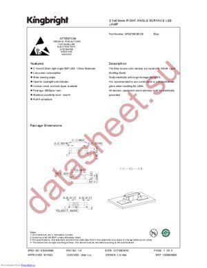 APA2106QBC-D datasheet скачать даташит