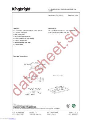 APA2106SYCK datasheet скачать даташит