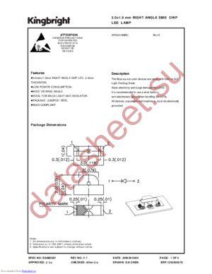 APA3010MBC datasheet скачать даташит