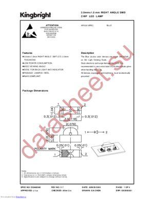 APA3010PBC datasheet скачать даташит