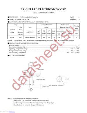 BL-B2114 datasheet скачать даташит