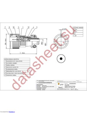 CA3106E18-6PB datasheet скачать даташит