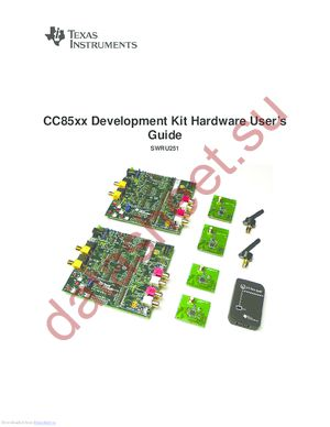 CC85XXDK datasheet скачать даташит