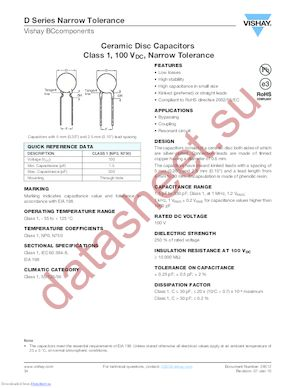 D479C20C0HH63J5R datasheet скачать даташит