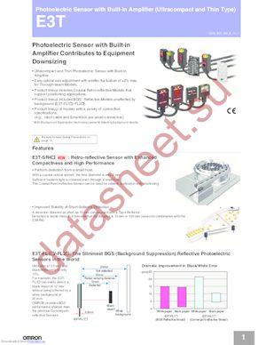E3T-SL22R datasheet скачать даташит