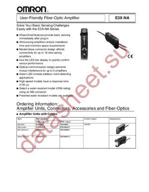 E3XNA11F2M datasheet скачать даташит