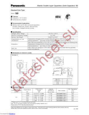EECS0HD104 datasheet скачать даташит