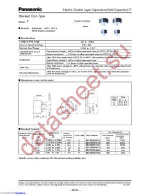EECF5R5H105 datasheet скачать даташит