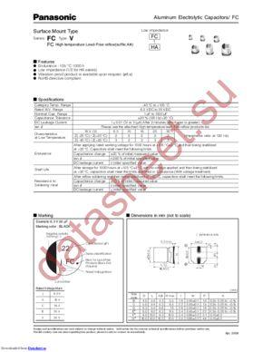EEE-FC1C681AP datasheet скачать даташит