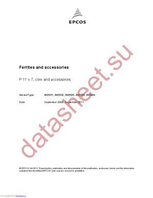 B65531D0000R048 datasheet скачать даташит